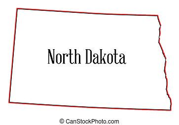 dakota, noorden