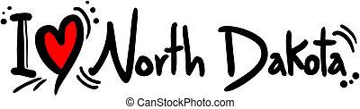 dakota, nord, amore