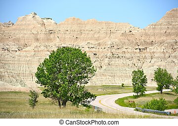 Dakota's Badlands Scenery