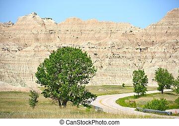 Dakota\'s Badlands Scenery