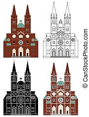 Dakovo_Cathedral_in_Croatia_Europe.