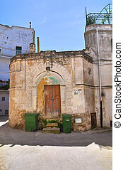 D'Alagni palace. Castellaneta. Puglia. Italy.