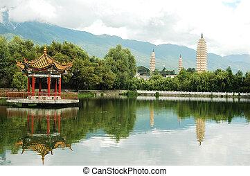 dali, china, paisaje