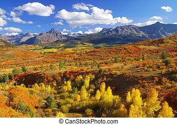 Continental divide landscape in Colorado
