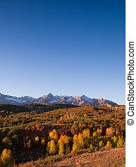 Dallas Divide in Autumn - The Dallas Divide is a Colorado...