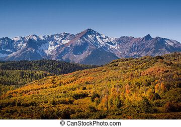 Dallas Divide in Autumn - The Dallas Divide is a Colorado ...