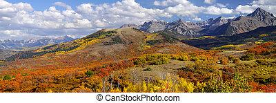Dallas divide near San Juan mountains in Colorado