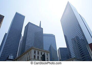 Dallas downtown city urban bulidings view - Dallas downtown ...
