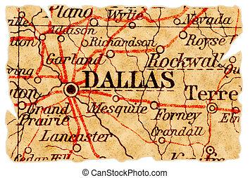 Dallas old map