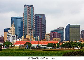 Skyscrapers in Dallas