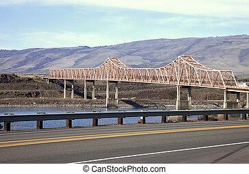 dalles, 橋, オレゴン, state.