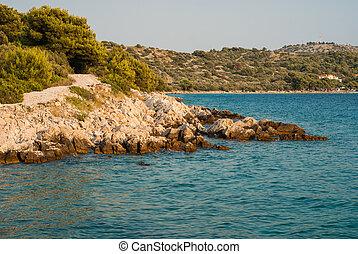 dalmatia, murter, croacia, islas, playas
