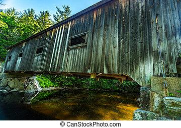 Dalton, couvert, pont