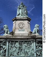 Dalton Park - Lancaster - England - The Queen Victoria...