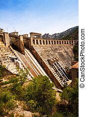dam at Segre river.  Lleida