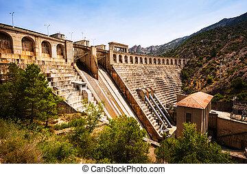 dam at Segre river