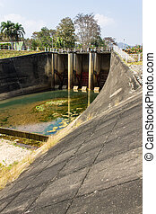 Dam, Lock Gates