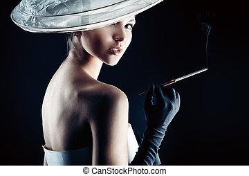 dama, moda
