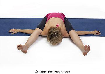 dama, practica, yoga