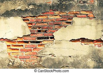 Damage cement