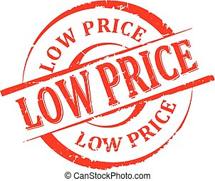 Damaged round seal with the inscription - low price
