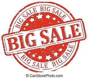 Damaged Seal - big sale