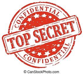 Damaged Seal - Top Secret - Confide
