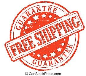 Damaged Stamp Red - Free Shipping -