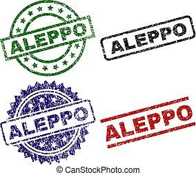 Damaged Textured ALEPPO Stamp Seals