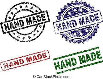 Damaged Textured HAND MADE Stamp Seals