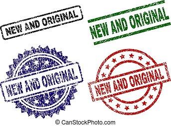 Damaged Textured NEW AND ORIGINAL Stamp Seals