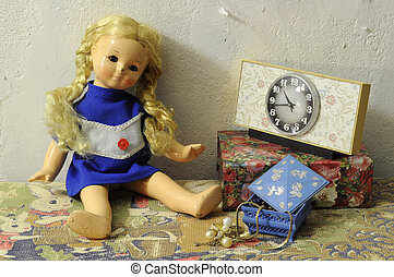 Damaged Vintage Doll