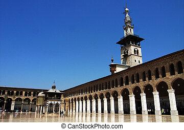 damasco, moschea