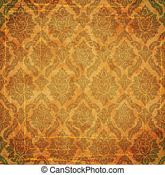 Damask ancient background