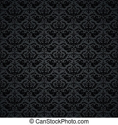 Damask Background - background illustration of a damask...