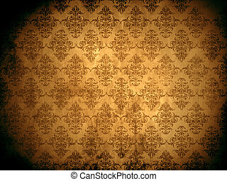 Damask Background - Damask wallpaper or background with...
