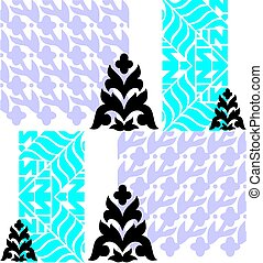 Damask design for use in anywhere.