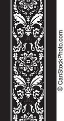 damask fancy pattern - background