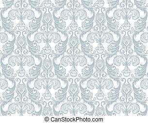 Damask pattern - Vector illustration of Damask pattern