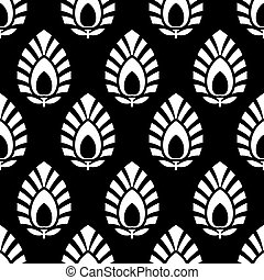 Damask rich pattern