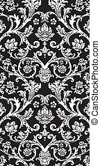 damask royal pattern