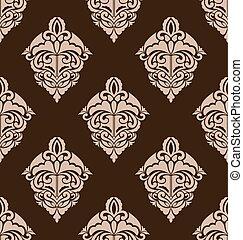 Damask Seamless Ornate Pattern