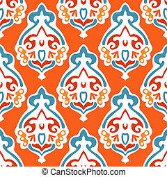 Damask seamlessvector abstract design