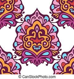 Damask vector festive design