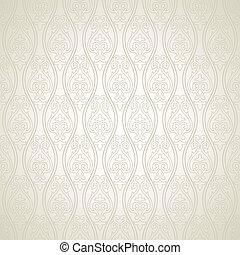 Damask vector pattern