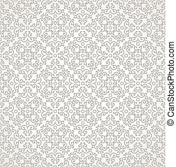 Damask vector seamless background