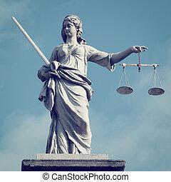 dame, de, justice