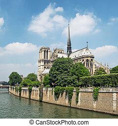 dame notre, francia, -, parigi