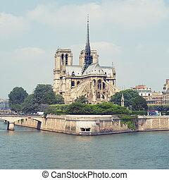 dame notre, parigi, -, francia