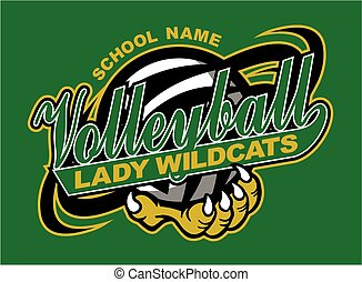 dame, volley-ball, wildcats